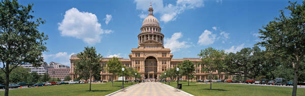 Texas Capitol Photograph - Facade Of A Government Building, Texas by Panoramic Images