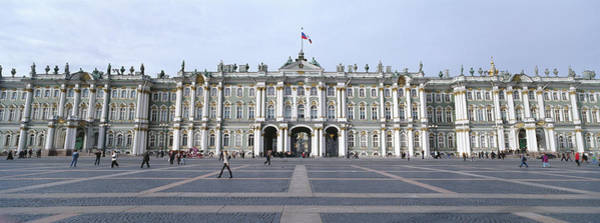 Soviet Union Photograph - Facade Of A Museum, State Hermitage by Panoramic Images