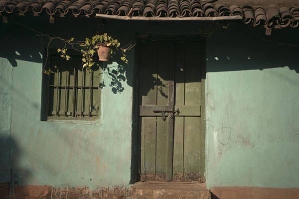Photograph - Facade Of An Indian House by Maria Heyens