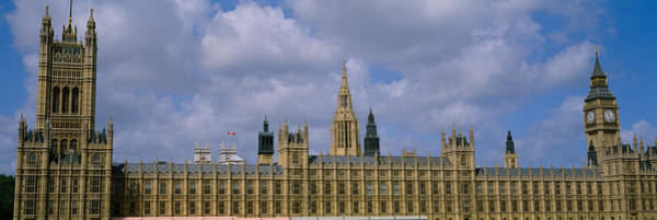 Houses Of Parliament Wall Art - Photograph - Facade Of Big Ben And The Houses Of by Panoramic Images