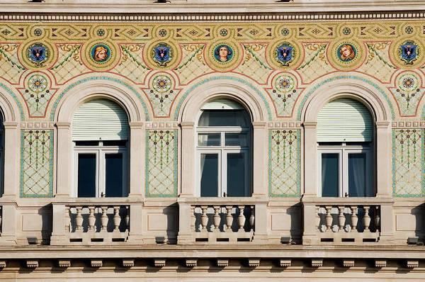 Friuli Photograph - Facade Of Teatro Verdi by Travelgame