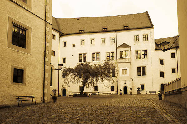 Wall Art - Photograph - Facade Of The Castle Site Of Famous Ww2 by Panoramic Images