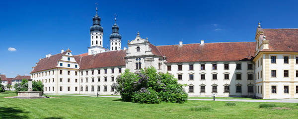 Donau Photograph - Facade Of The Obermarchtal Monastery by Panoramic Images