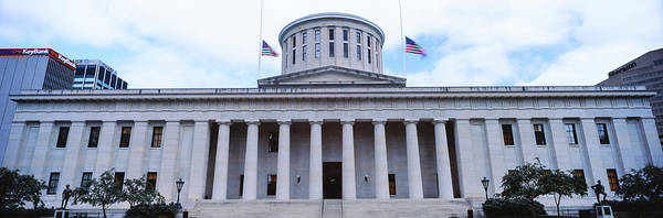 Greek Revival Architecture Photograph - Facade Of The Ohio Statehouse by Panoramic Images