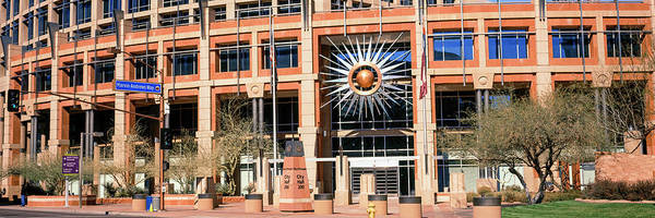 Maricopa Photograph - Facade Of The Phoenix City Hall by Panoramic Images