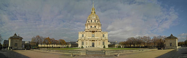Invalides Photograph - Facade Of The St-louis-des-invalides by Panoramic Images