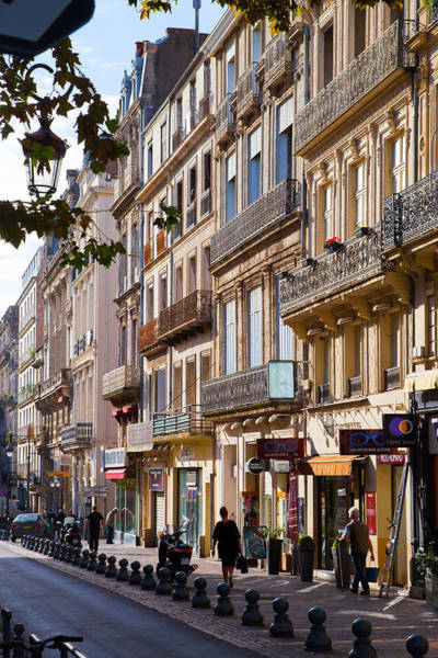 Wall Art - Photograph - Facades In Beziers by W Chris Fooshee