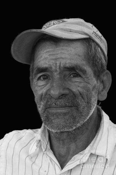 Photograph - Face Of A Hardworking Man by Heiko Koehrer-Wagner