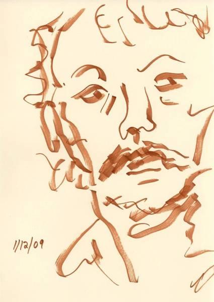 Drawing - Face by Rachel Scott