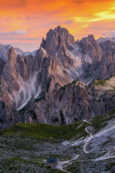 Mountain Sunset Photograph - Face To Face by Andreas Agazzi