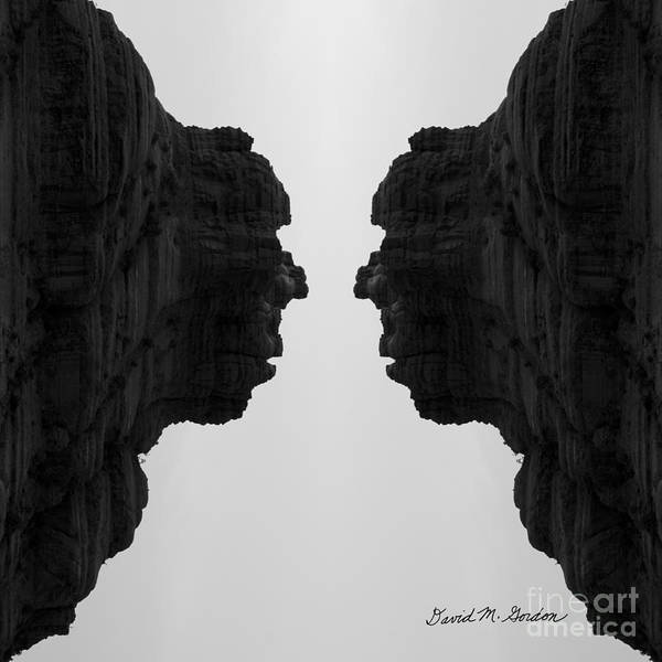 Photograph - Face To Face Montage II by Dave Gordon