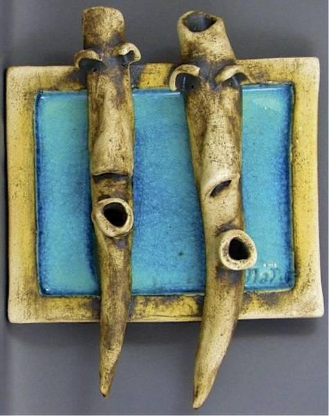 Sculpture - Faces #4 by Mario MJ Perron