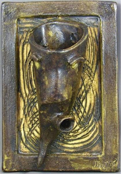 Sculpture - Faces #6 by Mario MJ Perron