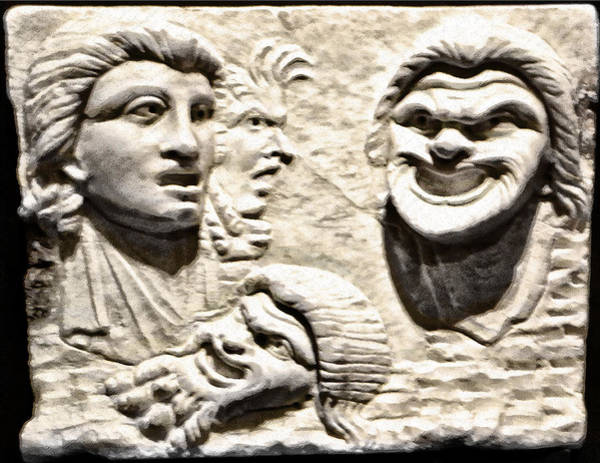 Photograph - Faces Of Pompeii by Bill Cannon