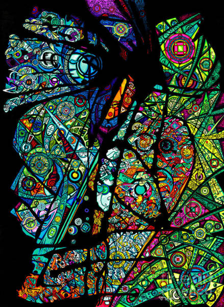 Drawing - Facets Of Love by Joey Gonzalez