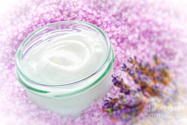Wall Art - Photograph - Facial Cream by Olivier Le Queinec