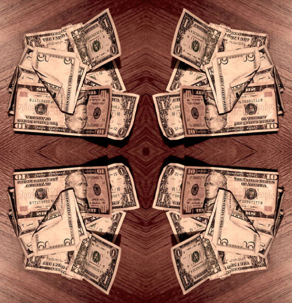 Photograph - Fade That Currency Axis 2013 by James Warren