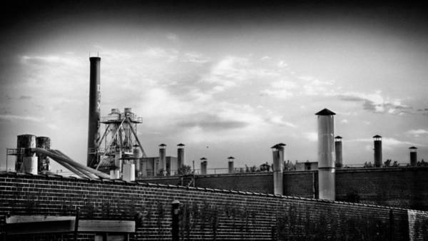 Photograph - Faded Industrial by Patrick M Lynch