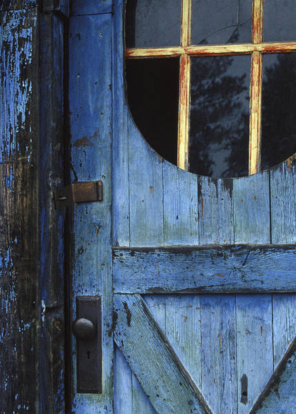Photograph - Fading Blue No. 1 by Curtis Dale