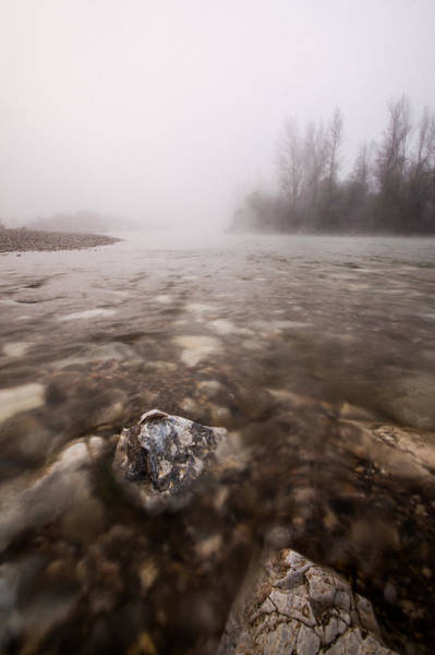 Riverscape Wall Art - Photograph - Fading by Davorin Mance
