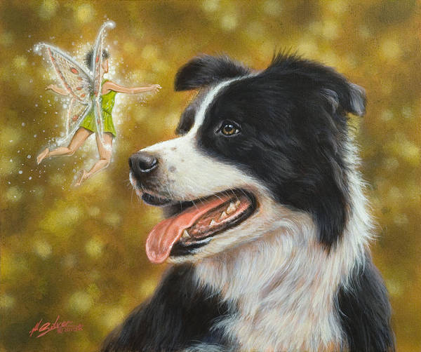 Painting - Faerie Tales by John Silver