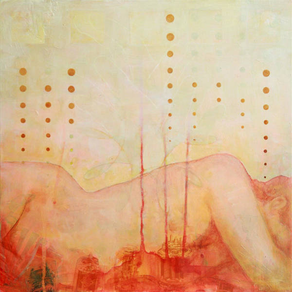 Contemporary Painting - fail or Paradise gig from Hell by Sandra Cohen