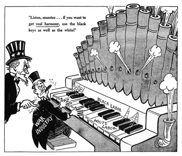 Photograph - Fair Employment Cartoon by Granger