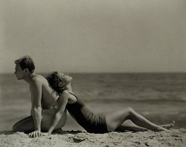 Swimsuit Photograph - Fairbanks And Crawford by Nicholas Muray
