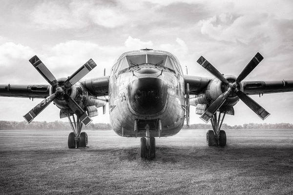 Photograph - Fairchild C-119 Flying Boxcar - Military Transport by Gary Heller