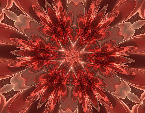 Digital Art - Fairest Of Them All Kaleidoscope by Barbara A Lane