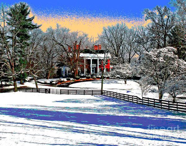 Photograph - Fairfax Farm House by Larry Oskin