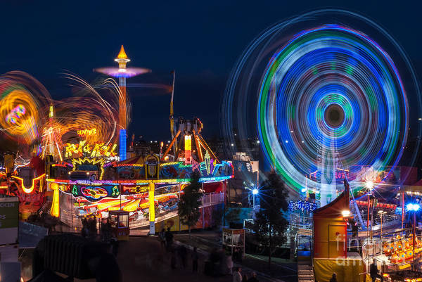 Photograph - Fairground Attraction by Ray Warren