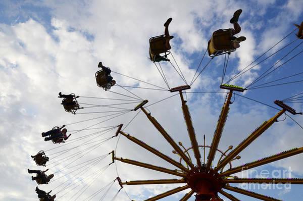 Lethbridge Photograph - Fairground Fun 3 by Bob Christopher