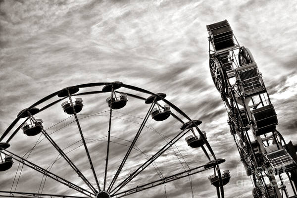 Wall Art - Photograph - Fairground by Olivier Le Queinec
