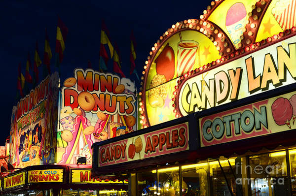 Lethbridge Photograph - Fairgrounds Fun 2 by Bob Christopher