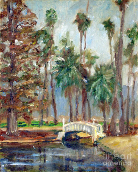 Painting - Fairmount Bridge by Joan Coffey