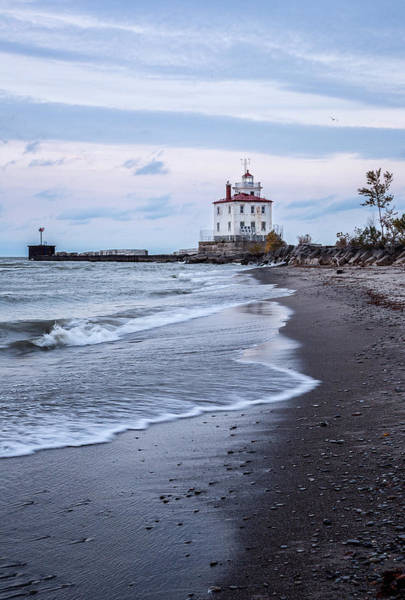 Photograph - Fairport Harbor Breakwater Lighthouse by Dale Kincaid