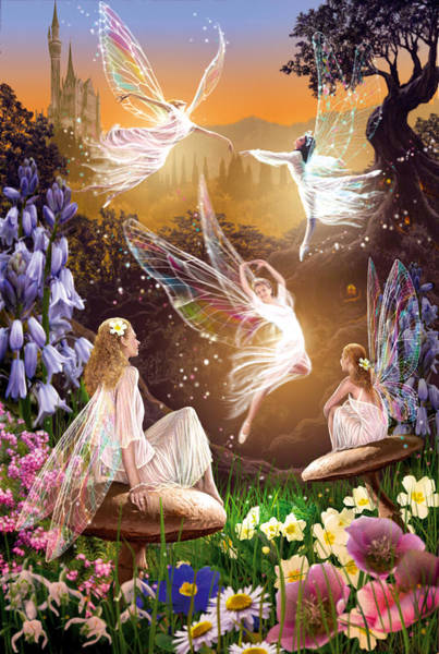 Enchanted Photograph - Fairy Ballet by MGL Meiklejohn Graphics Licensing