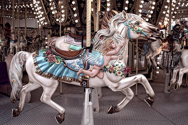 Photograph - Fairy Carousel Horse II by Kristia Adams
