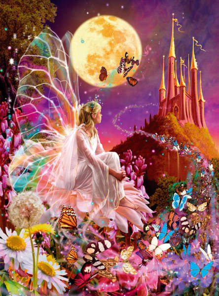 Mythical Photograph - Fairy Dream Variant 2 by MGL Meiklejohn Graphics Licensing