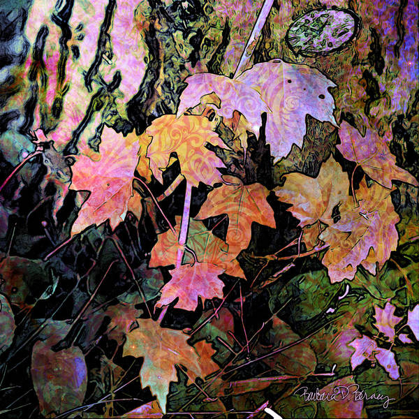 Digital Art - Fairy Garden by Barbara Berney