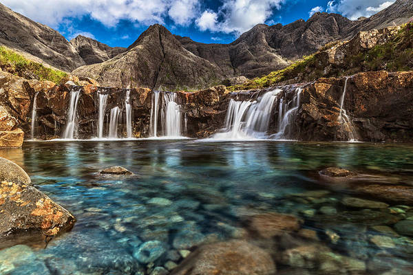Fairy Pools Art Print by Sergio Del Rosso Photography