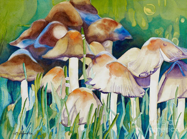 Hallucination Painting - Fairy Ring by Amanda Schuster