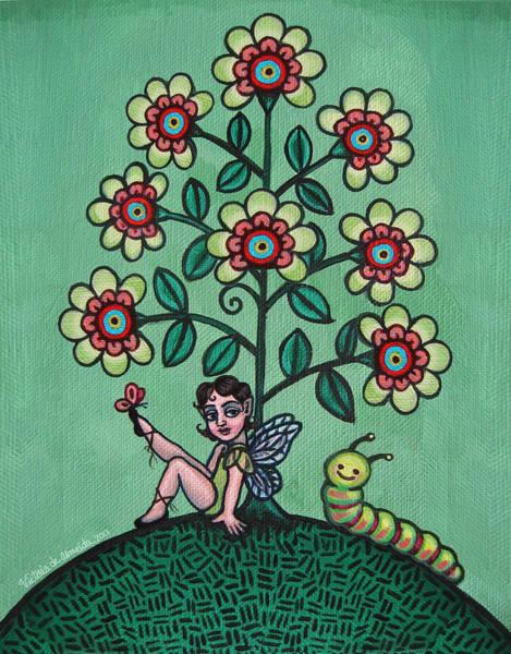 Painting - Fairy Series Katrina by Victoria De Almeida