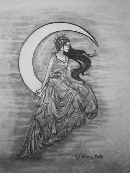 Wall Art - Drawing - Fairy Tales by Karin Celeste