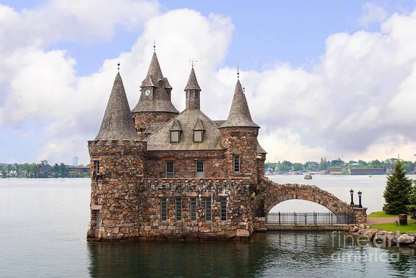 Photograph - Fairytale Castle In The St Lawrence Seaway by Brenda Kean