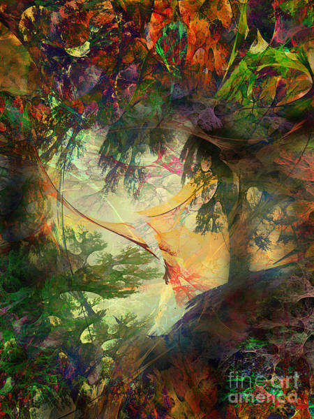 Fractal Landscape Digital Art - Fairytale Landscape by Klara Acel