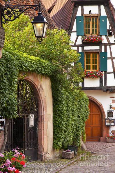 Alsace Wall Art - Photograph - Fairytale Village by Brian Jannsen