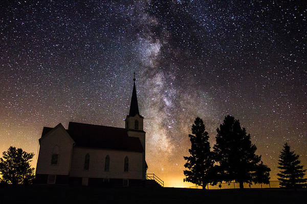 Milky Way Wall Art - Photograph - Faith by Aaron J Groen