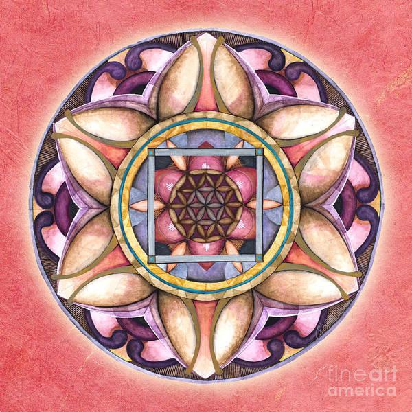 Painting - Faith Mandala by Jo Thomas Blaine